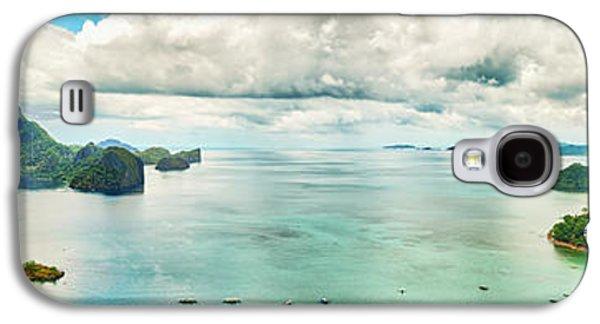 Waterscape Galaxy S4 Cases - El Nido bay Galaxy S4 Case by MotHaiBaPhoto Prints