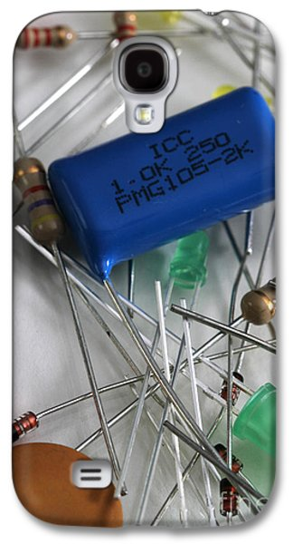 Component Photographs Galaxy S4 Cases - Electronic Components Galaxy S4 Case by Photo Researchers, Inc.