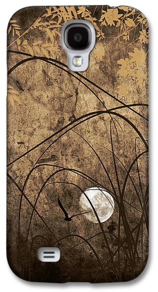 Sunset Abstract Digital Galaxy S4 Cases - Element Galaxy S4 Case by Lourry Legarde