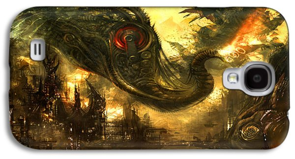 Concept Art Galaxy S4 Cases - Elephas Maximus Galaxy S4 Case by Alex Ruiz