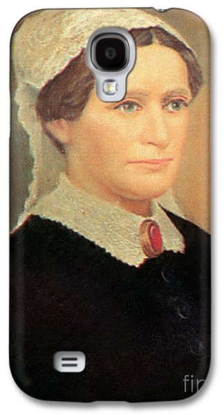 First Lady Galaxy S4 Cases - Eliza Johnson Galaxy S4 Case by Photo Researchers