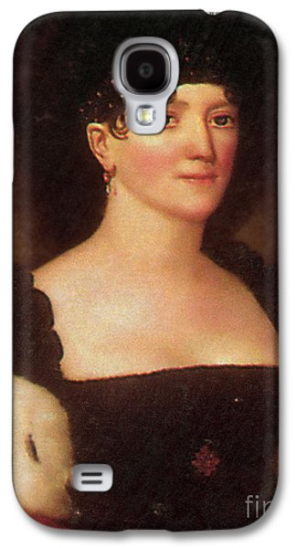 First Lady Galaxy S4 Cases - Elizabeth Monroe Galaxy S4 Case by Photo Researchers