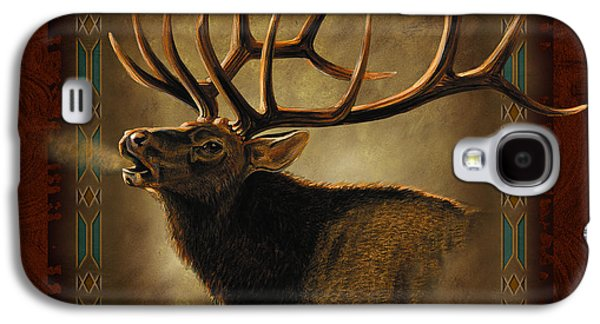 Prairie Galaxy S4 Cases - Elk Lodge Galaxy S4 Case by JQ Licensing