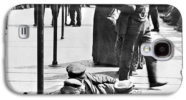 1907 Galaxy S4 Cases - Ellis Island: Immigrants Galaxy S4 Case by Granger