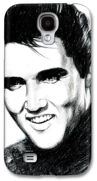 Elvis Presley Galaxy S4 Cases - Elvis Galaxy S4 Case by Lin Petershagen