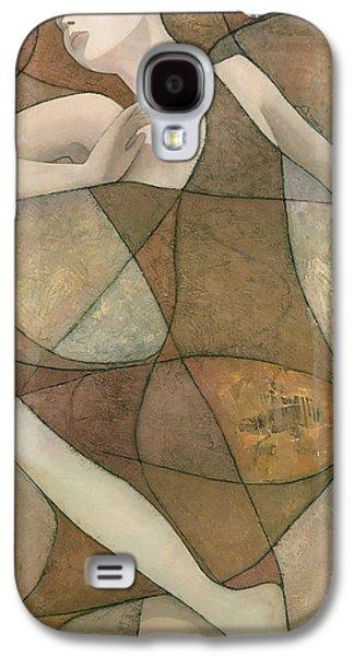 Texture Mixed Media Galaxy S4 Cases - Elysium Galaxy S4 Case by Steve Mitchell