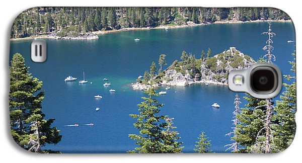 Landscapes Photographs Galaxy S4 Cases - Emerald Bay Galaxy S4 Case by Carol Groenen