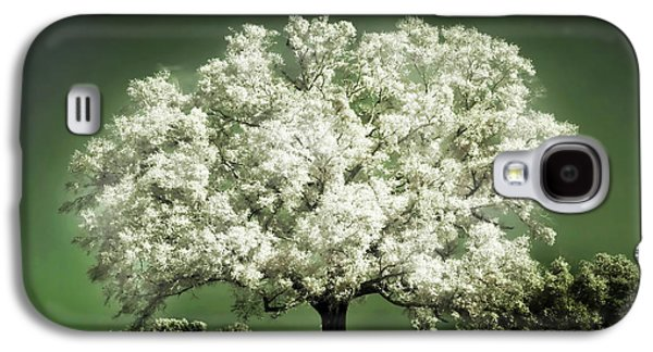 Cherry Tree Galaxy S4 Cases - Emerald Meadow square Galaxy S4 Case by Hugo Cruz