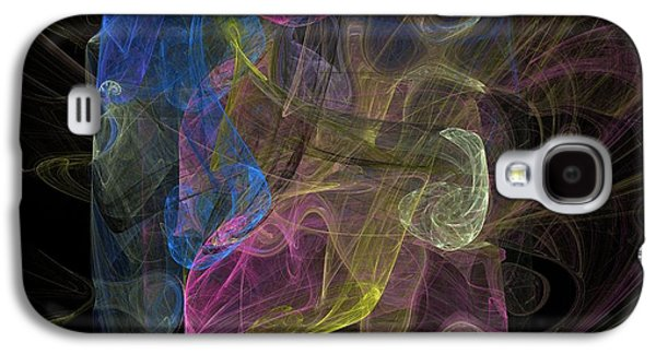 Abstract Digital Art Galaxy S4 Cases - Emotion Galaxy S4 Case by Christy Leigh