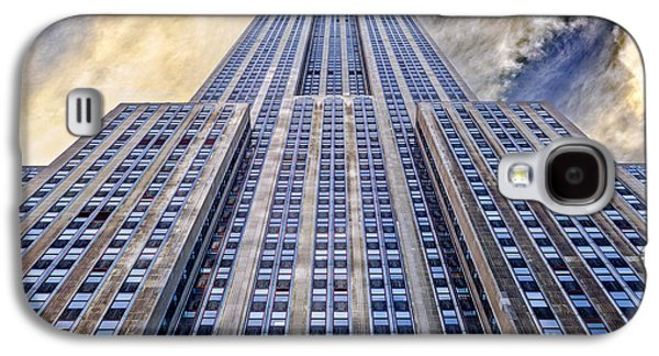 Buildings Galaxy S4 Cases - Empire State Building  Galaxy S4 Case by John Farnan