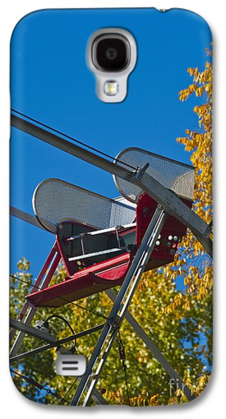 Not In Use Galaxy S4 Cases - Empty chair on Ferris Wheel Galaxy S4 Case by Thom Gourley/Flatbread Images, LLC
