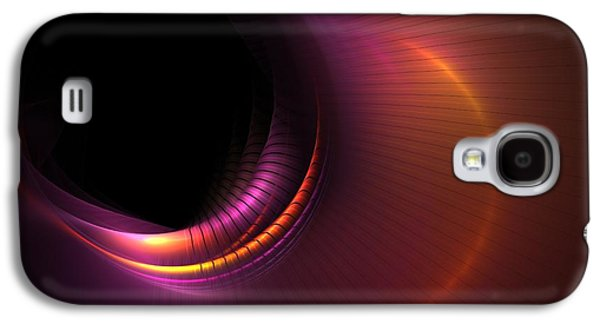 Digital Art Greeting Cards Galaxy S4 Cases - Empty Spaces Galaxy S4 Case by Lyle Hatch
