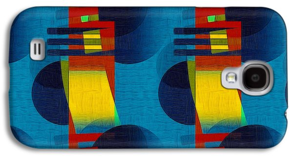 Abstract Digital Galaxy S4 Cases - En Formes 01f Galaxy S4 Case by Aimelle