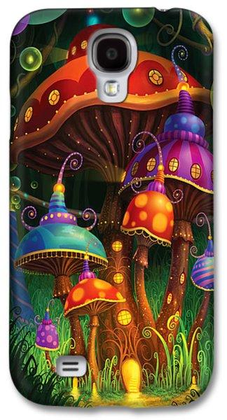 Alice In Wonderland Galaxy S4 Cases - Enchanted Evening Galaxy S4 Case by Philip Straub
