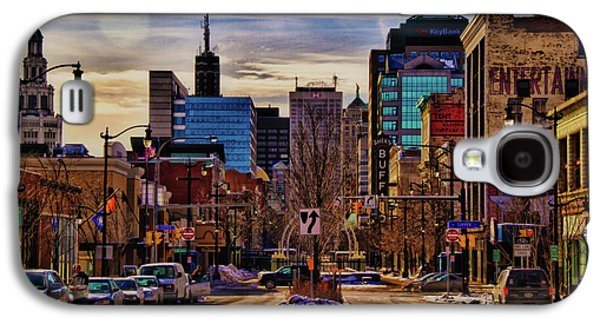 Urban Buildings Galaxy S4 Cases - Entertainment Galaxy S4 Case by Chuck Alaimo