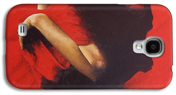 Nudes Paintings Galaxy S4 Cases - Entrapped Galaxy S4 Case by Trisha Lambi