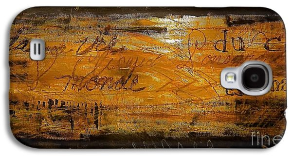 Eric Maskin On Sovereign Man Galaxy S4 Case by Contemporary Luxury Fine Art