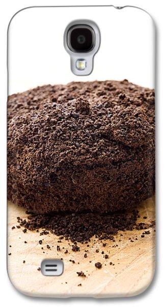 Espresso Galaxy S4 Cases - Espresso coffee grounds Galaxy S4 Case by Frank Tschakert