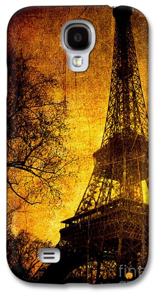 Paris Digital Art Galaxy S4 Cases - Esthetic Luster Galaxy S4 Case by Andrew Paranavitana