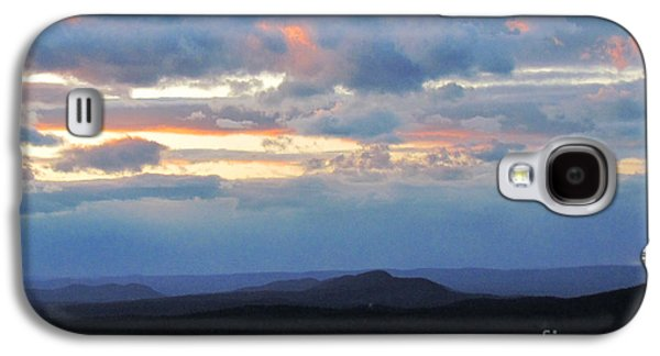 Randi Shenkman Galaxy S4 Cases - Evening Sky over the Quabbin Galaxy S4 Case by Randi Shenkman