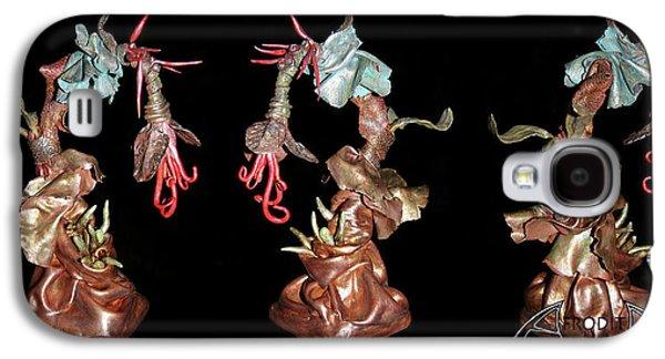 Fantasy Ceramics Galaxy S4 Cases - Exotic Fantasy Galaxy S4 Case by Afrodita Ellerman