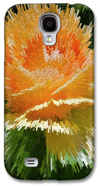 Nature Abstract Galaxy S4 Cases - Explosion  Galaxy S4 Case by Brian Roscorla
