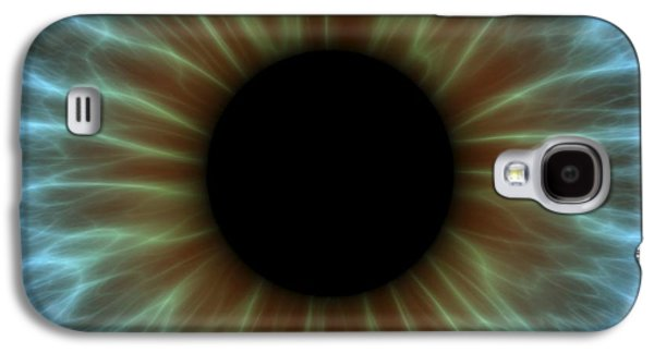 Human Health Galaxy S4 Cases - Eye, Iris Galaxy S4 Case by Pasieka