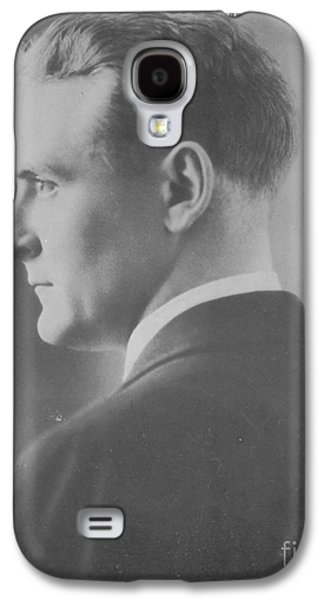 Personalities Photographs Galaxy S4 Cases - F. Scott Fitzgerald, American Author Galaxy S4 Case by Photo Researchers