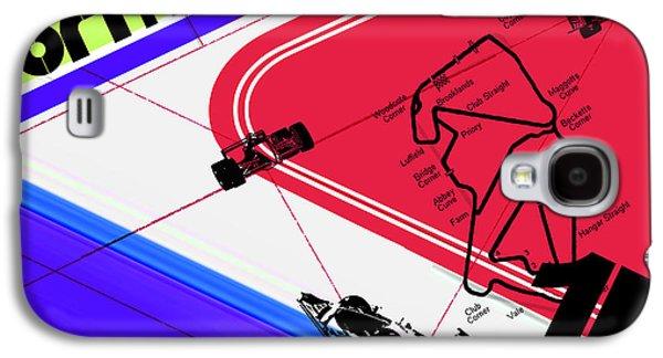 Circuit Galaxy S4 Cases - F1 Galaxy S4 Case by Naxart Studio