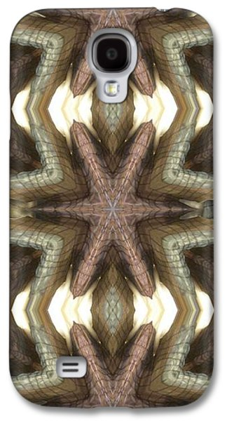 Shower Curtain Galaxy S4 Cases - Fabric Grille Galaxy S4 Case by Ron Bissett