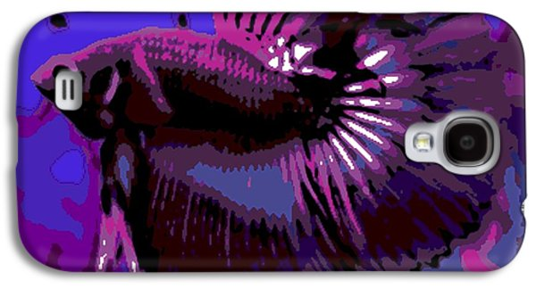 Betta Galaxy S4 Cases - Fabulous Fins Galaxy S4 Case by George Pedro