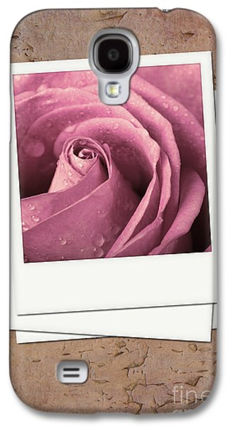 Studio Photographs Galaxy S4 Cases - Faded rose photo Galaxy S4 Case by Jane Rix