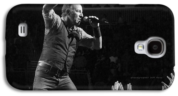 Bruce Springsteen Photographs Galaxy S4 Cases - Faith Will Be Rewarded Galaxy S4 Case by Jeff Ross