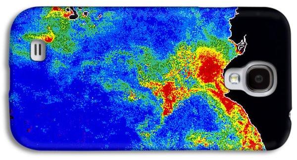 Phytoplankton Photographs Galaxy S4 Cases - Fal-col Satellite Image Of Coastal Galaxy S4 Case by Dr. Gene Feldman, NASA Goddard Space Flight Center