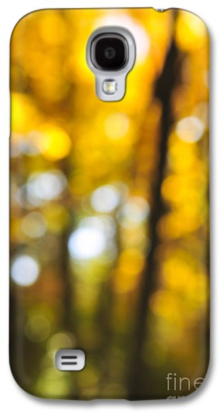 Abstract Nature Galaxy S4 Cases - Fall abstract Galaxy S4 Case by Elena Elisseeva