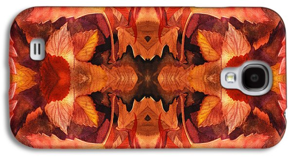 Maple Season Paintings Galaxy S4 Cases - Fall Decor Galaxy S4 Case by Irina Sztukowski