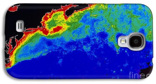 Algal Galaxy S4 Cases - False Col Satellite Image Galaxy S4 Case by Dr. Gene Feldman, NASA Goddard Space Flight Center