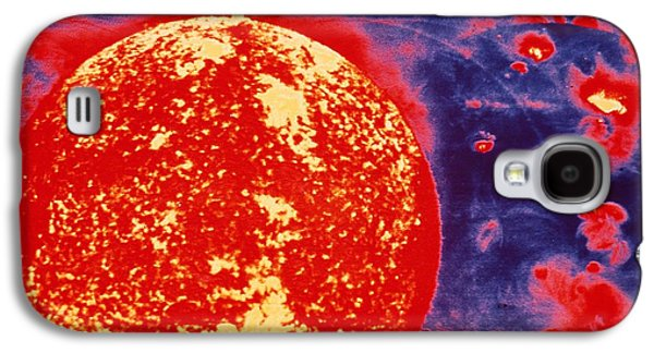 Helium Galaxy S4 Cases - False-color Skylab Image Of A Solar Galaxy S4 Case by NASA / Science Source