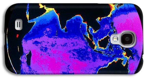 Phytoplankton Photographs Galaxy S4 Cases - False Colour Image Of The Indian Ocean Galaxy S4 Case by Dr Gene Feldman, Nasa Gsfc