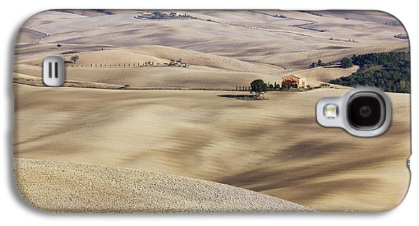 Sienna Italy Galaxy S4 Cases - Farm Fields Galaxy S4 Case by Jeremy Woodhouse