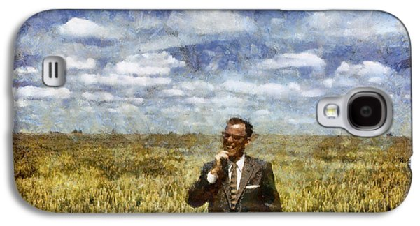 Farming Galaxy S4 Cases - Farm Life - A Good Crop Galaxy S4 Case by Nikki Marie Smith