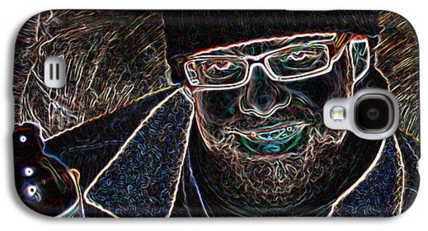 Fuzzy Digital Art Galaxy S4 Cases - Feeling Good Galaxy S4 Case by Joshua Sunday