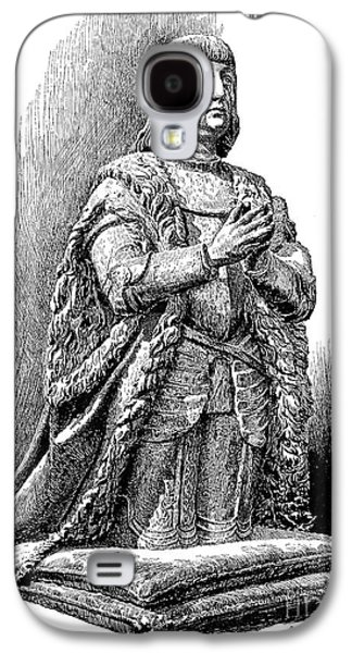 Statue Portrait Galaxy S4 Cases - Ferdinand V Of Castile (1452-1516) Galaxy S4 Case by Granger