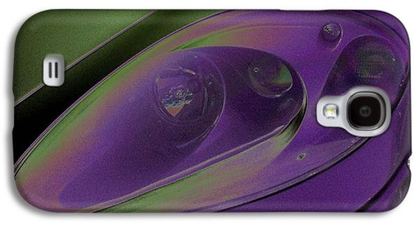 Will Power Photographs Galaxy S4 Cases - Ferrari Light Galaxy S4 Case by Carolina Liechtenstein