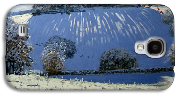 Field Of Shadows Galaxy S4 Case by Andrew Macara