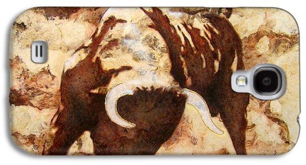 Unique Art Galaxy S4 Cases - Fight Bull Galaxy S4 Case by Jose Espinoza