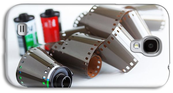 Analog Galaxy S4 Cases - Film and Canisters Galaxy S4 Case by Carlos Caetano