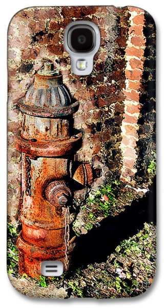 Original Art Photographs Galaxy S4 Cases - Fire Plug Galaxy S4 Case by Colleen Kammerer