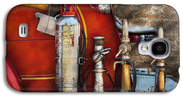 Brigade Galaxy S4 Cases - Fireman - An Assortment of Nozzles Galaxy S4 Case by Mike Savad