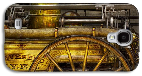 Brigade Galaxy S4 Cases - Fireman - Piano Engine - 1855  Galaxy S4 Case by Mike Savad
